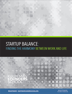 Startup Balance: Finding the Harmony Between Work and Life